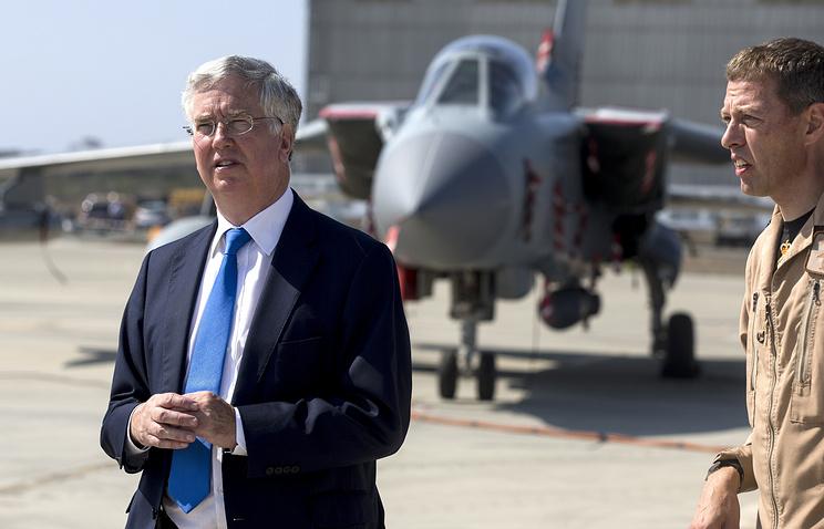 Министр обороны Великобритании Майкл Фэллон, архив