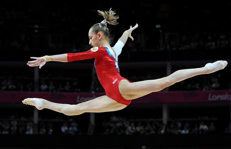 Виктория Комова на Олимпиаде 2012 года
