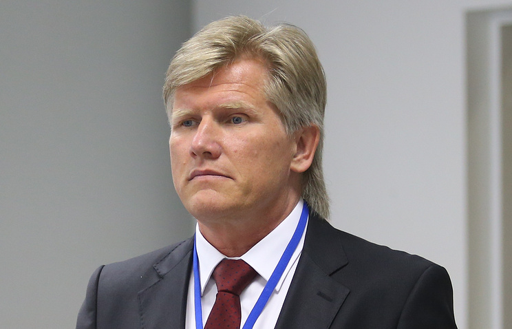 Двукратный олимпийский чемпион Дмитрий Васильев