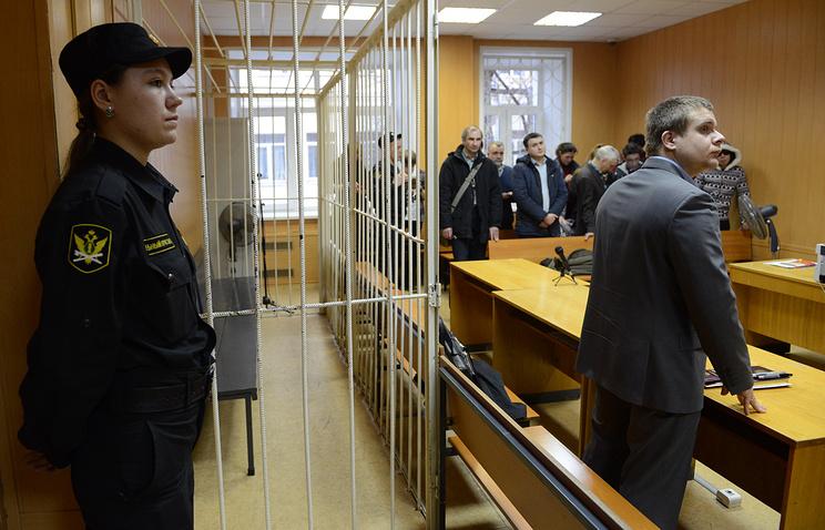 Оглашение приговора Сергею Мохнаткину в Тверском суде