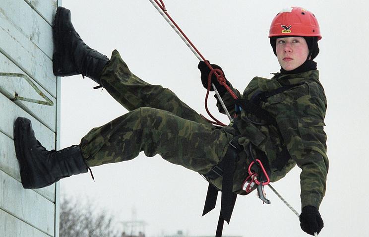 Занятия во Втором московском кадетском корпусе /МЧС/.