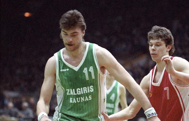 Арвидас Сабонис (1987 год)