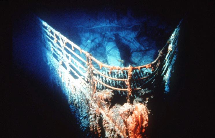"Затонувший ""Титаник"""