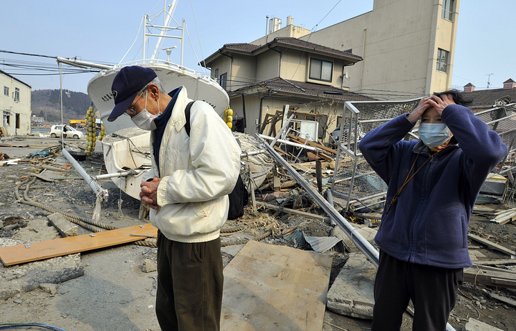 Последствия землетрясения в Японии в марте 2011 года