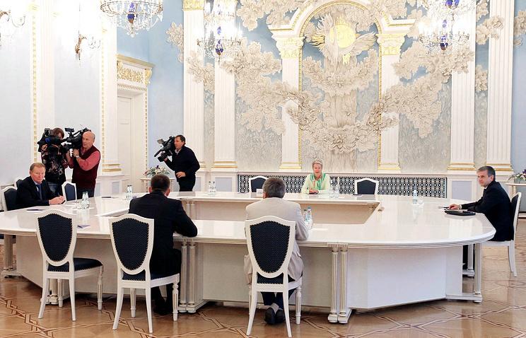 Заседания контактной группы по Украине. Минск, сентябрь 2014 года