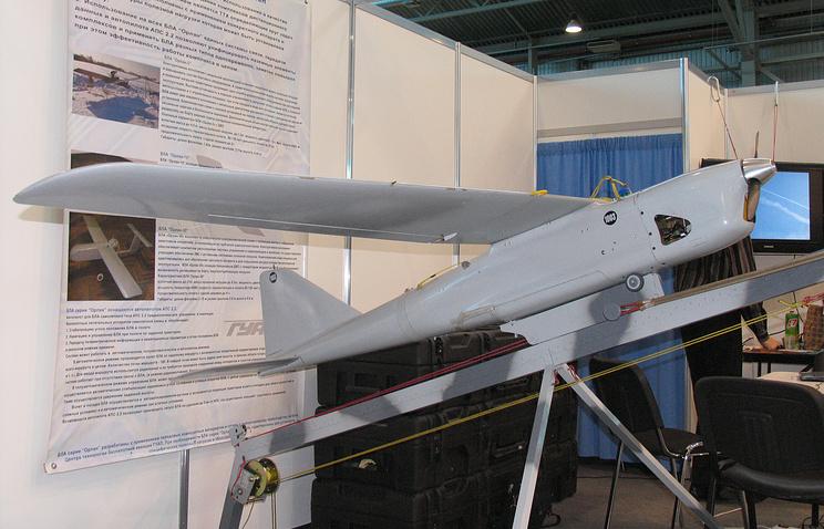 """БЛА """"Орлан-10"""" на выставке """"ИнтерАэроКом 2010"""", Санкт-Петербург"""