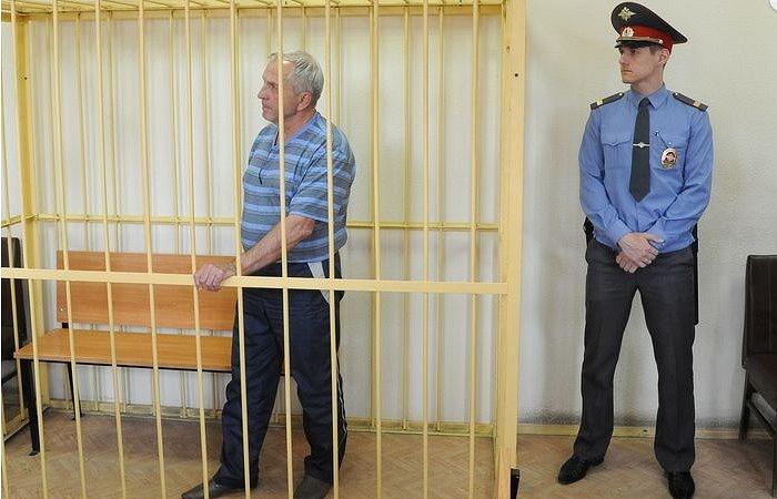 Виктор Щекотов под арестом