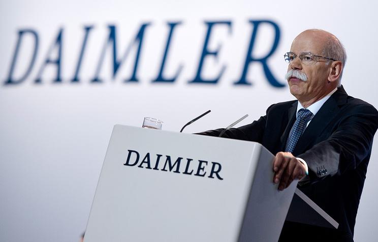 Председатель правления Daimler AG Дитер Цетше