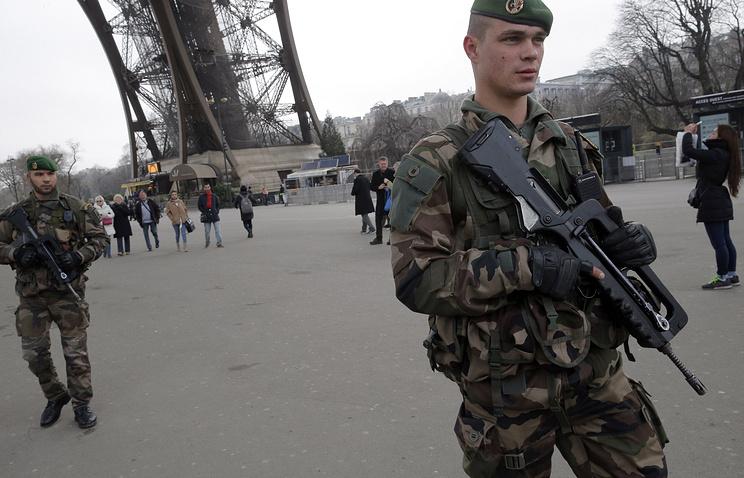 Усиление мер безопасности в Париже