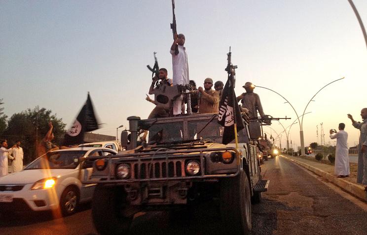 """Боевики """"Исламского государства"""" в Мосуле"""