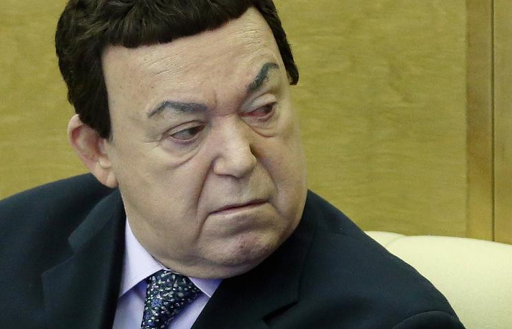 Первый заместитель комитета Госдумы РФ по культуре, певец Иосиф Кобзон