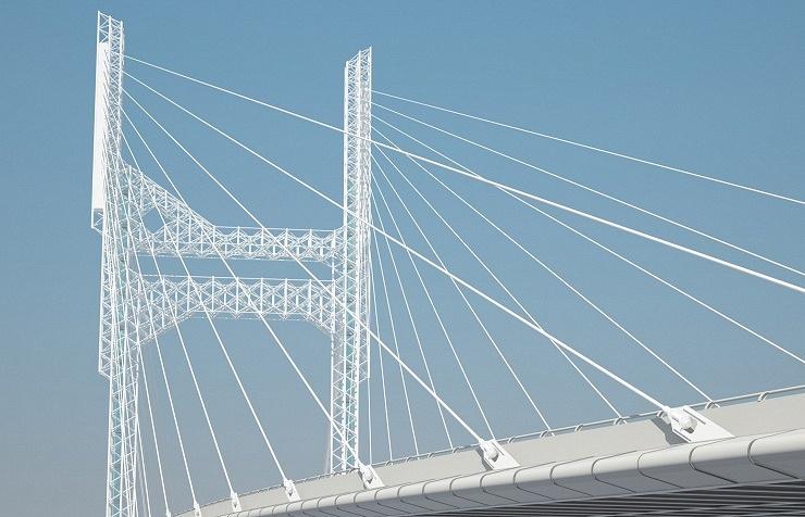 Проект четвёртого моста в Новосибирске