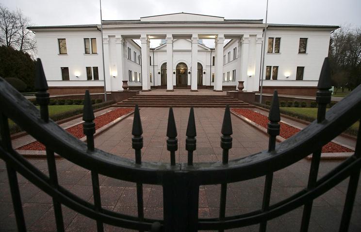 Резиденция президента в Минске, в которой состоялась встреча Контактной группы в декабре 2014 года