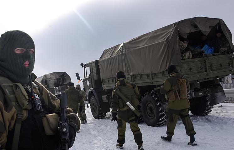 Ситуация у аэропорта Донецка