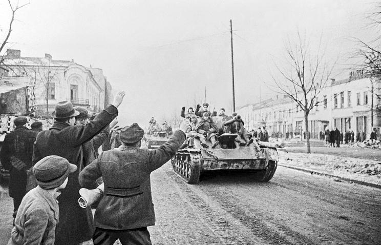 Освобождение Польши. 1945 год