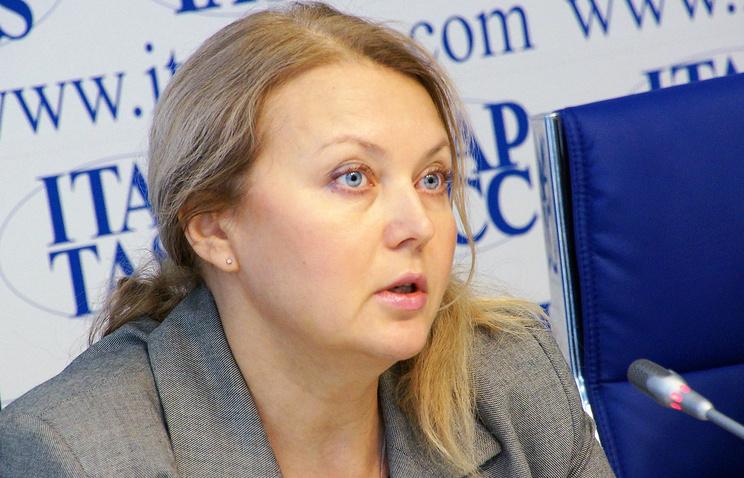 Заместитель начальника Управления ФМС по Свердловской области Ольга Петрова