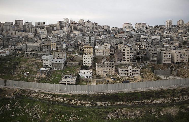 Израильский разделительный барьер, Иерусалим