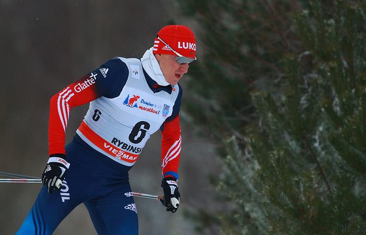 Дмитрий Япаров на этапе Кубка мира в Рыбинске