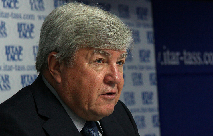 Полпред президента в Сибирском федеральном округе Николай Рогожкин