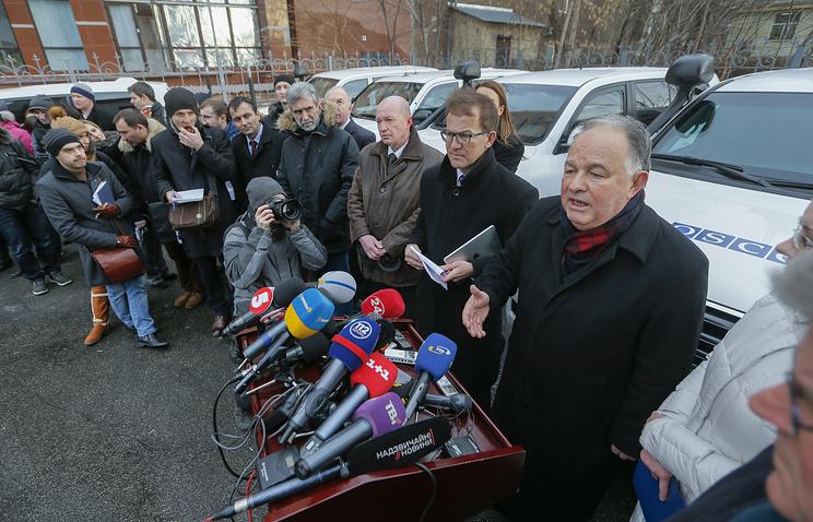 Глава наблюдательной миссии ОБСЕ на Украине Эртугрул Апакан