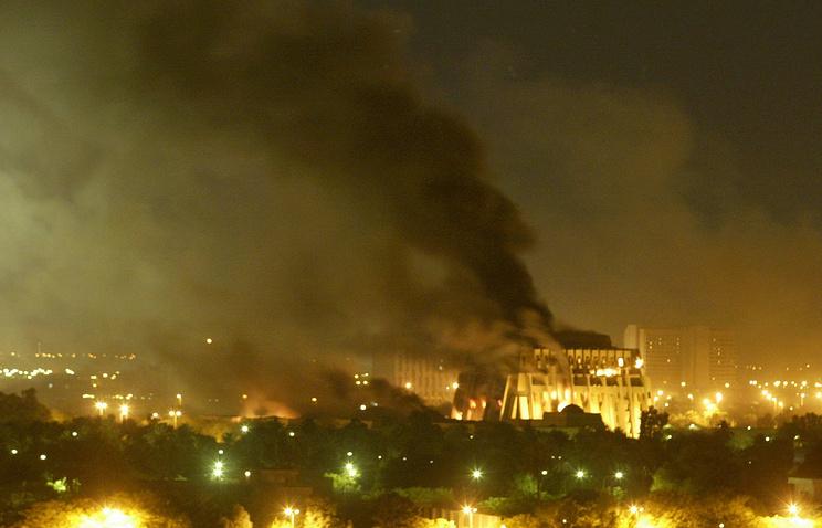 Бомбардировка Багдада 20 марта 2003 года