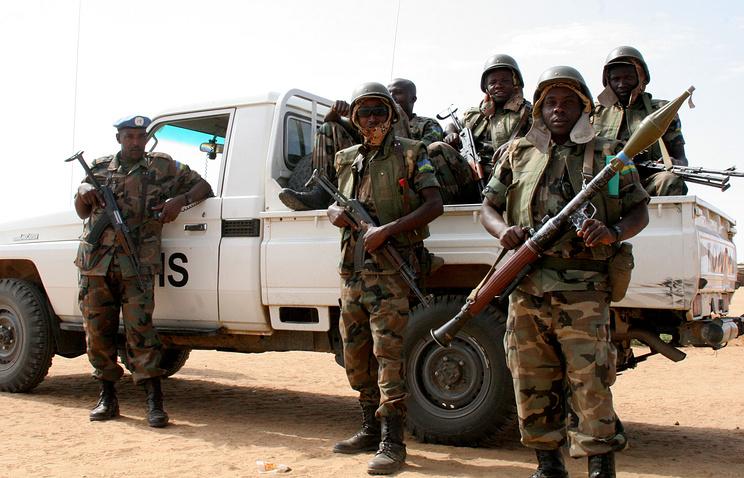 Миротворческие войска ООН в Дарфуре
