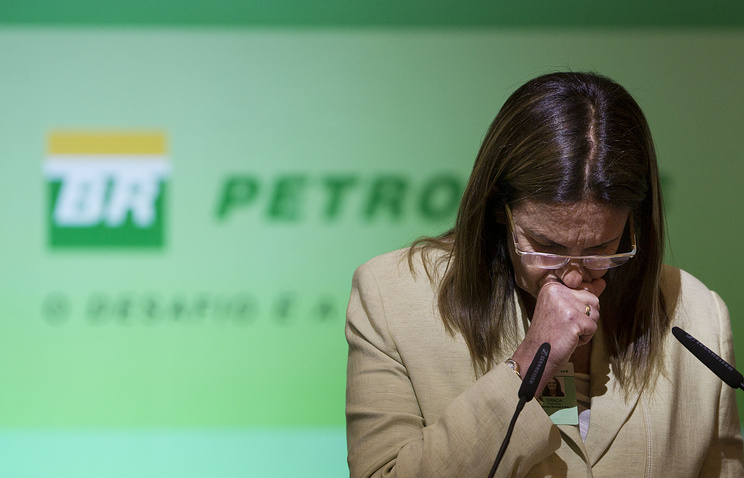 Президент бразильской государственной нефтегазовой корпорации Petrobras Мария дас Грасас Фостер