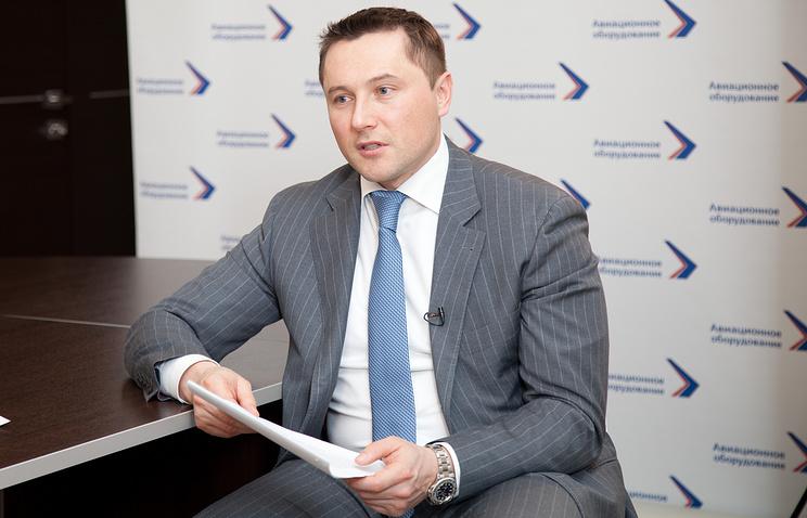 """Генеральный директор холдинга """"Авиационное оборудование"""" Максим Кузюк"""