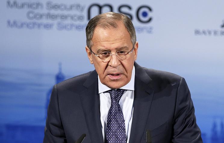 Глава МИД РФ Сергей Лавров.