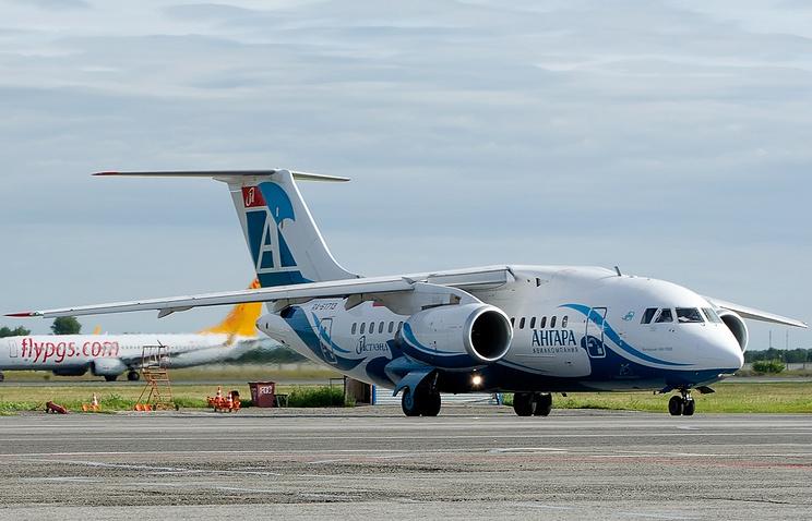"""Самолет Ан-148 авиакомпании """"Ангара"""""""