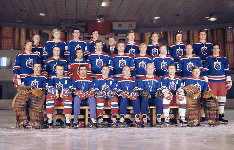 Хоккейная команда ЦСКА, 1975 год