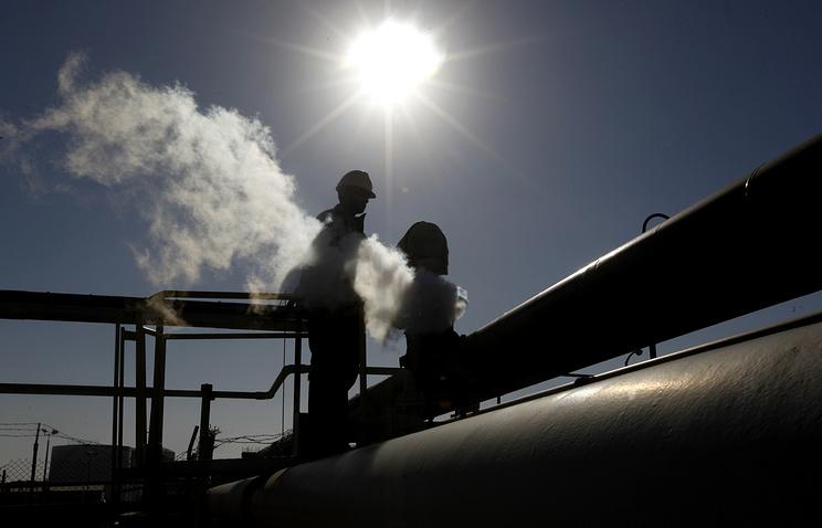 Нефтеперерабатывающий завод в городе Брега в Ливии