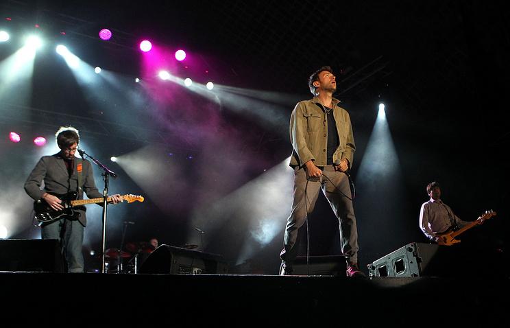 Концерт Blur в Монтевидео. 2013 год