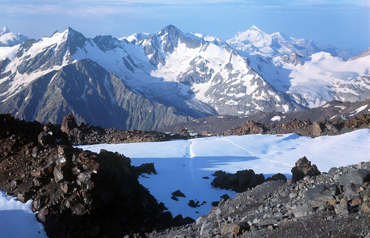 Эльбрусский ледник