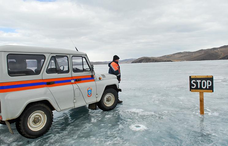 Работа Байкальского поисково-спасательного отряда