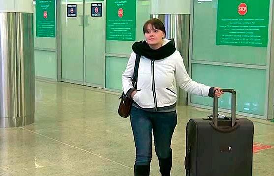 Корреспондент Первого канала Елена Макарова