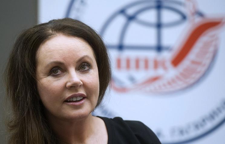 Пресс-конференци Сары Брайтман, посвященная космическому полету на МКС