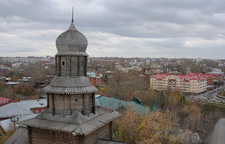 Вид Томска