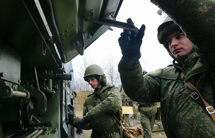 Тактико-специальное учение Балтийского флота с расчетами ЗРК С-300 соединения ПВО