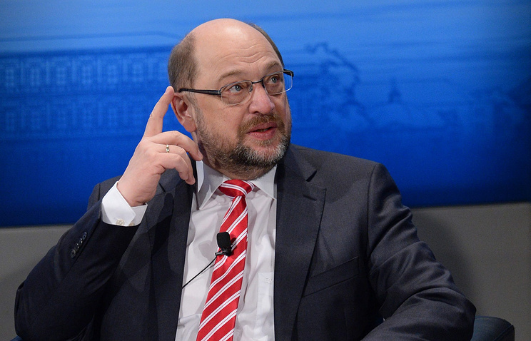 Президент Европейского парламента Мартин Шульц
