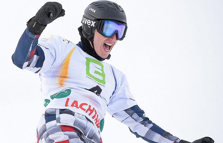 Российский сноубордист Андрей Соболев