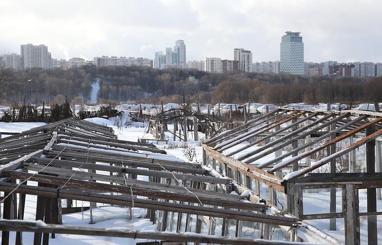 """Деревня """"Терехово"""", где планируется строительство Парламентского центра РФ"""