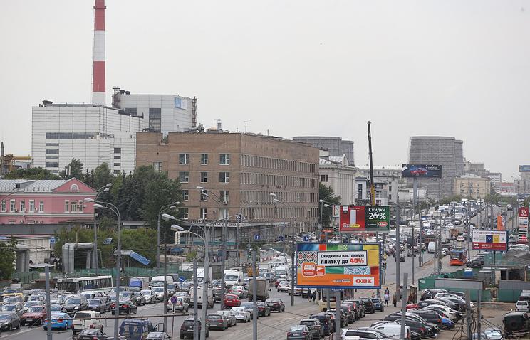 Вид на шоссе Энтузиастов