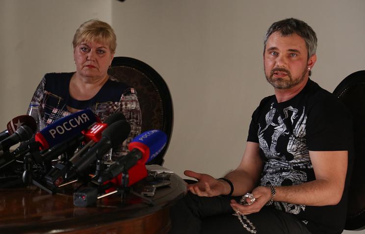 Дмитрий Лошагин и его адвокат Зоя Озорнина