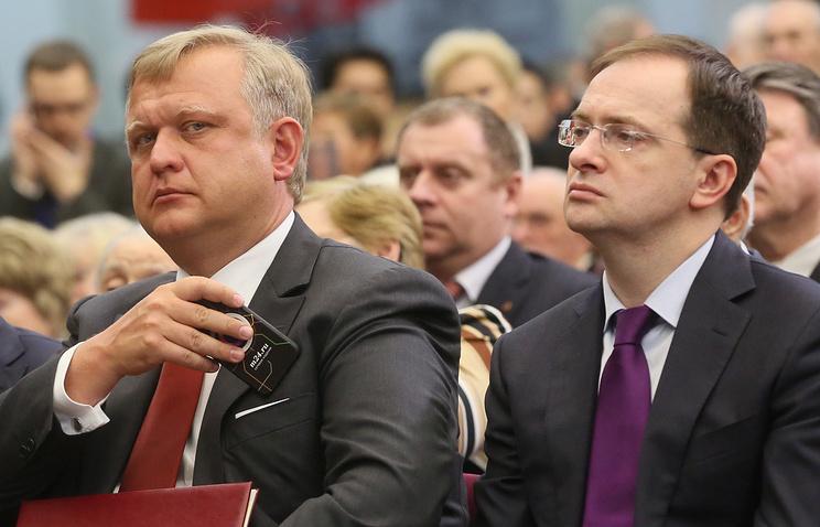 Сергей Капков и Владимир Мединский