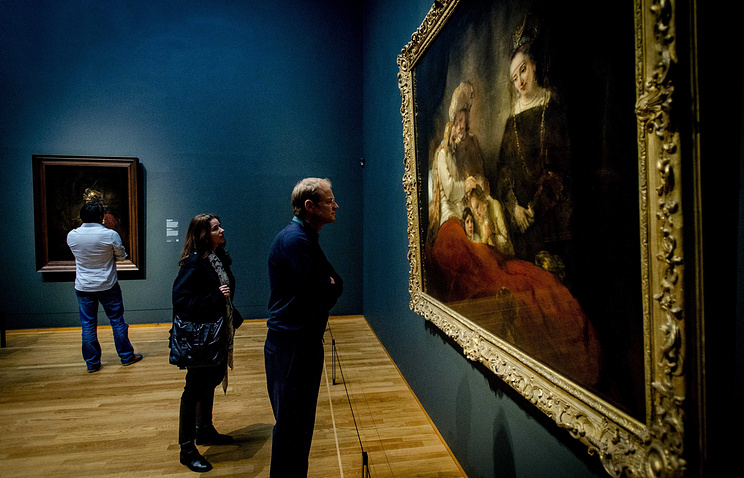 """Выставка """"Рембрандт. Поздние работы"""" в Амстердаме"""