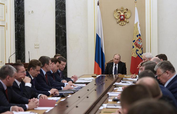 Совещание по вопросам социально-экономического развития Крыма и Севастополя в Кремле