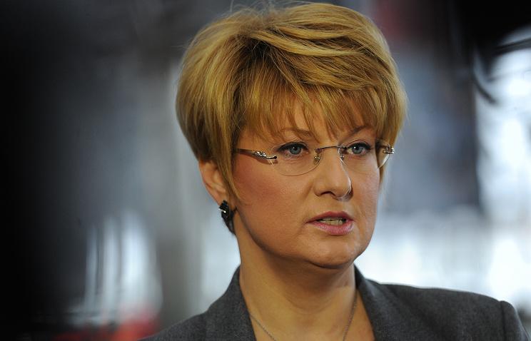 "Гендиректор ""Трансаэро"" Ольга Плешакова"