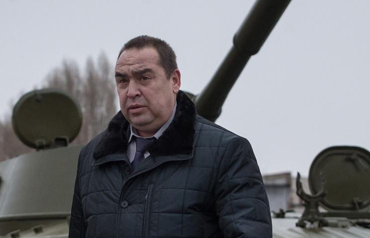 Глава Луганской народной республики Игорь Плотницкий