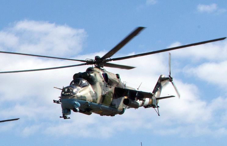 Вертолет Ми-24 ВВС Украины